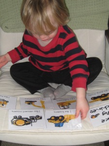 Our first experiences with Tot School printables