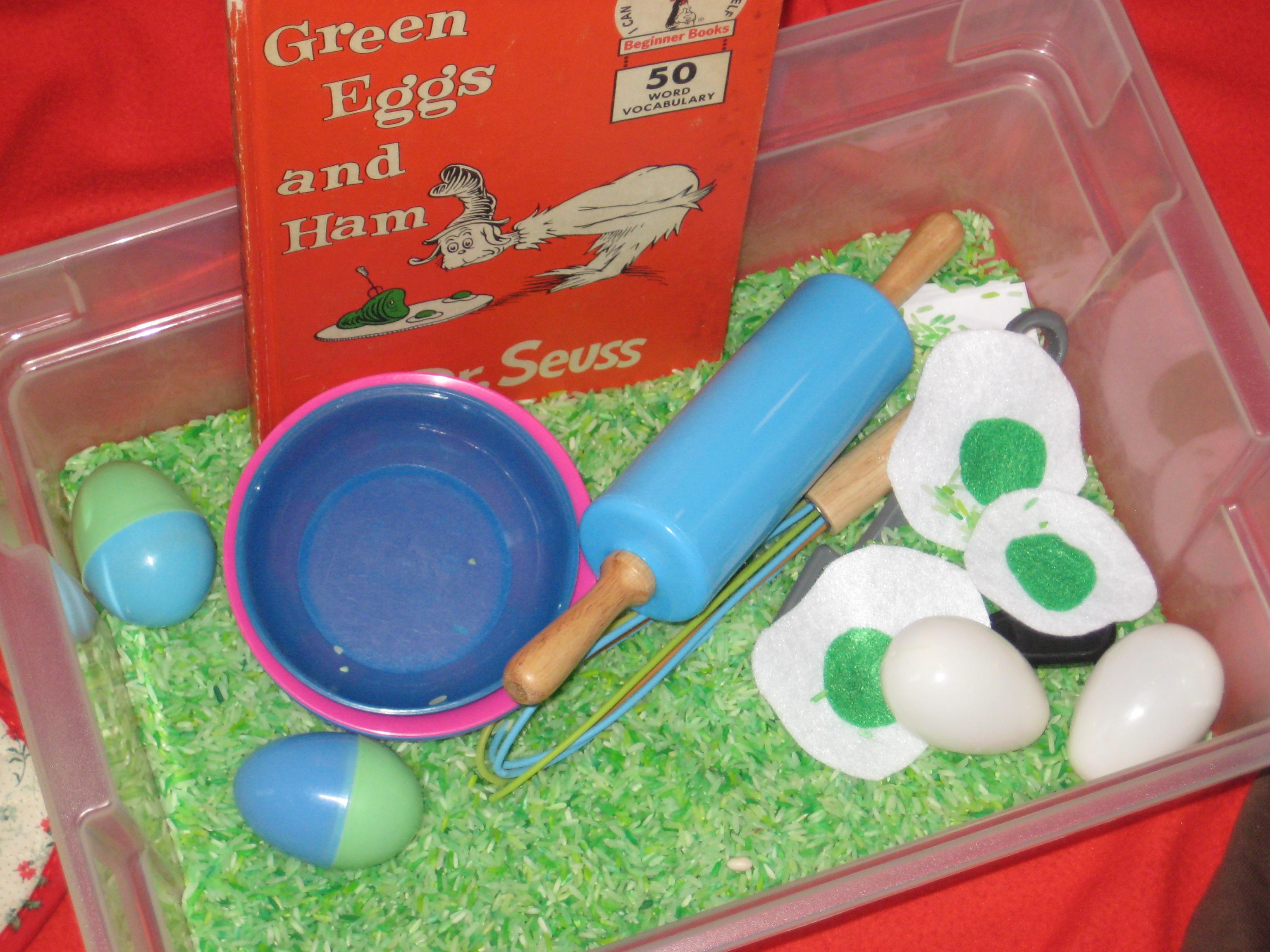 Green Eggs and Ham - Wildflower Ramblings