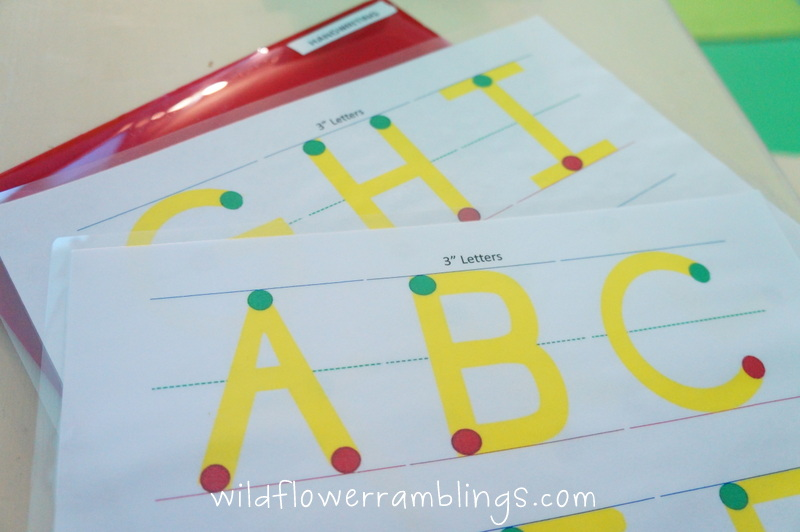 Early Literacy Stage 3 Utensil Prewriting And Uppercase Letter Writing on Handwriting Without Tears